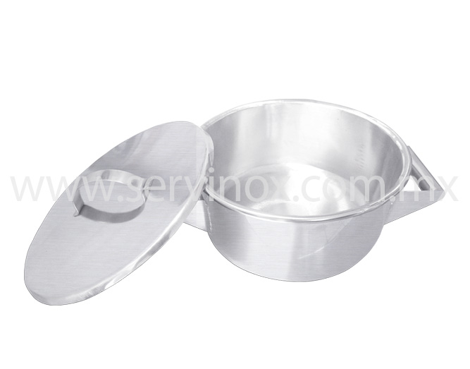 Budinera en Aluminio 10 Litros 2