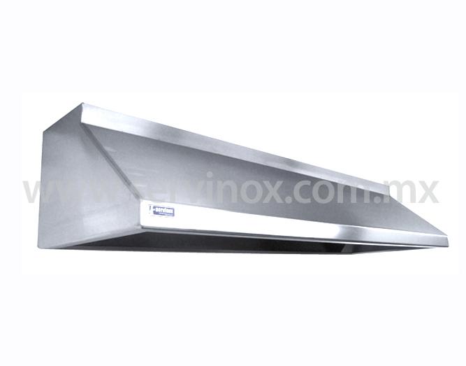 Campana de extraccion en acero inoxidable - Cocina de acero inoxidable precio ...