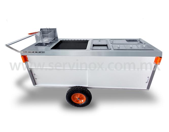Carrito Para Hot Dogs Y Hamburguesas Mod CH 190 1