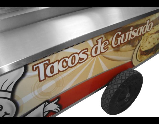 Carrito Para Tacos De Guisado 4