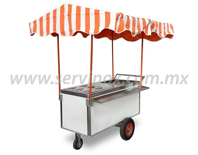 Carrito para Tacos de Guisado Economico CGE170E