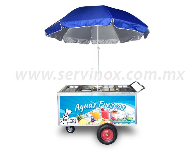 Carro para Aguas Frescas 2
