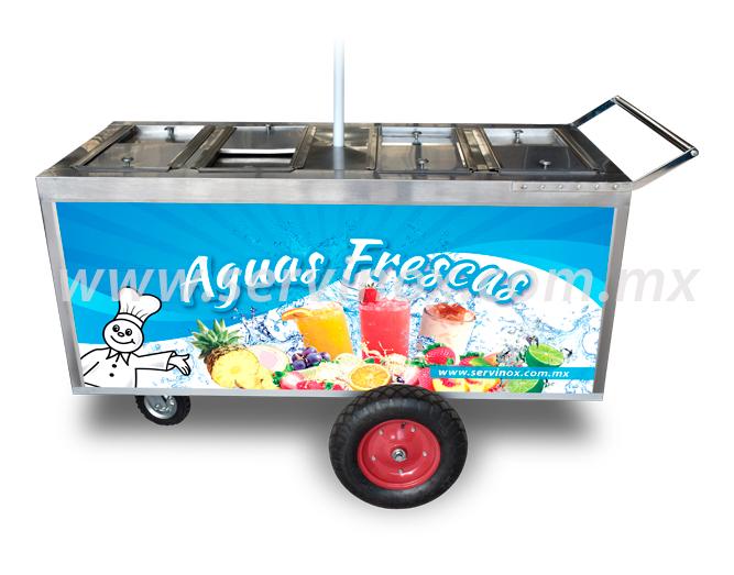 Carro para Aguas Frescas 3