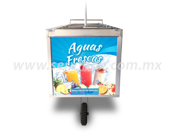 Carro para Aguas Frescas 7