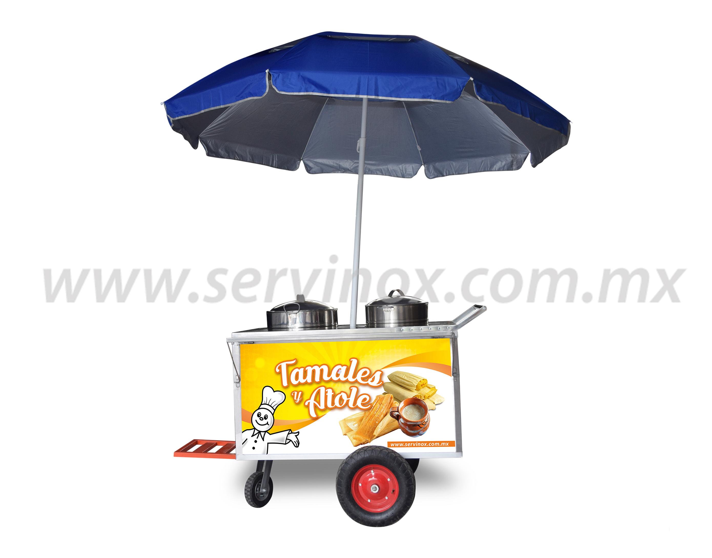 Carro para Tamales y Atole 2