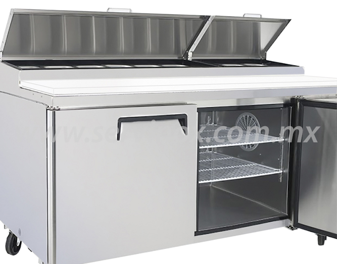 Mesa Para Preparacion de Pizzas MRP 170 2P 3