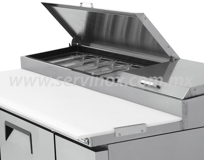 Mesa Para Preparacion de Pizzas MRP 170 2P 4