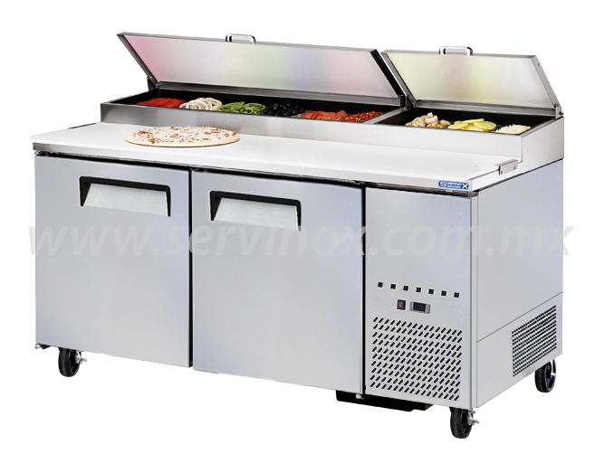 Mesa Para Preparacion de Pizzas MRP 170 2P