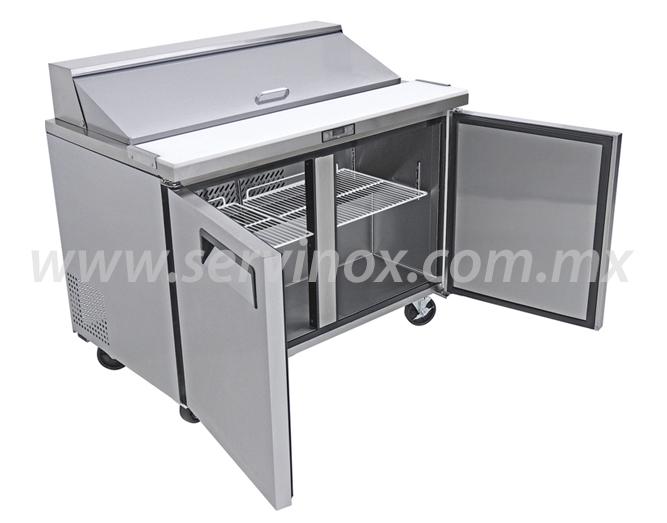 Mesa Para Preparacion de Sandwiches y Ensaladas MRS 122 2P 3