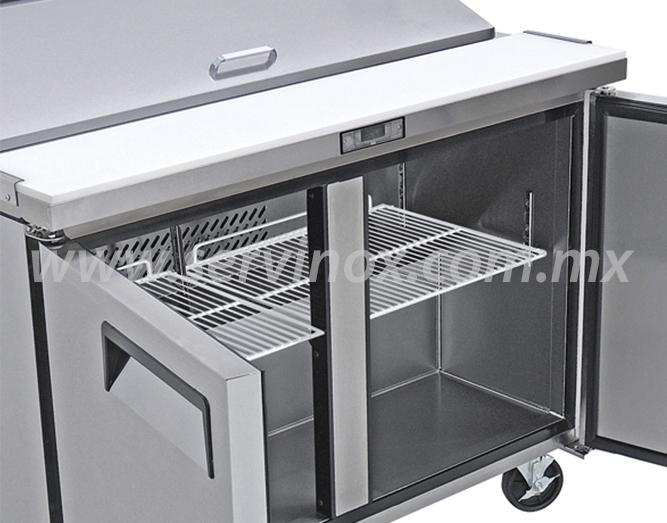 Mesa Para Preparacion de Sandwiches y Ensaladas MRS 152 2P 2