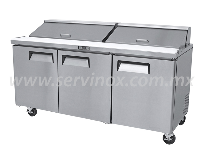 Mesa Para Preparacion de Sandwiches y Ensaladas MRS 184 3P