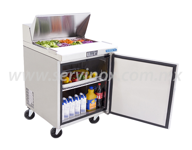 Mesa Para Preparacion de Sandwiches y Ensaladas MRS 70 1P 3