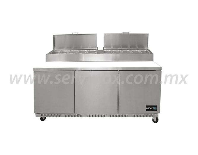 Mesa Refrigerada de Preparacion de Pizzas APTP 72 PE