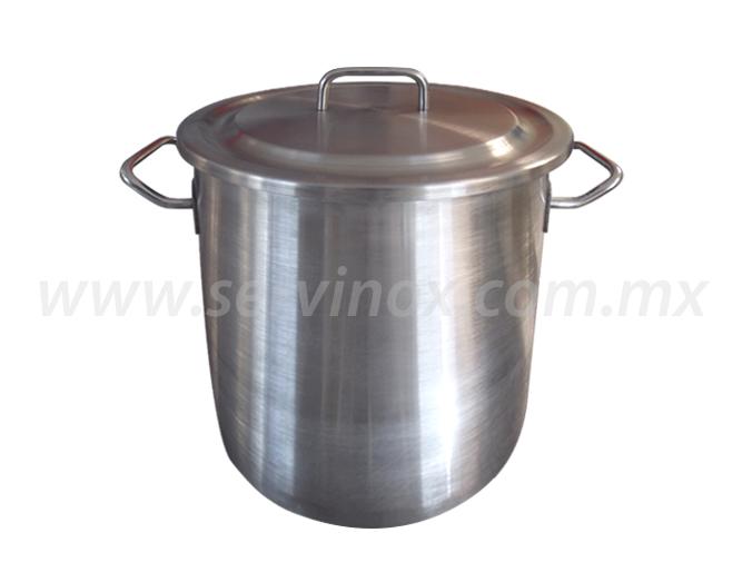 Olla en acero inoxidable tipo 304 20 litros a excelente precio - Precio acero inoxidable ...