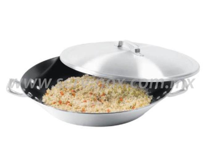 Paellera Silver Gourmet 50 CM