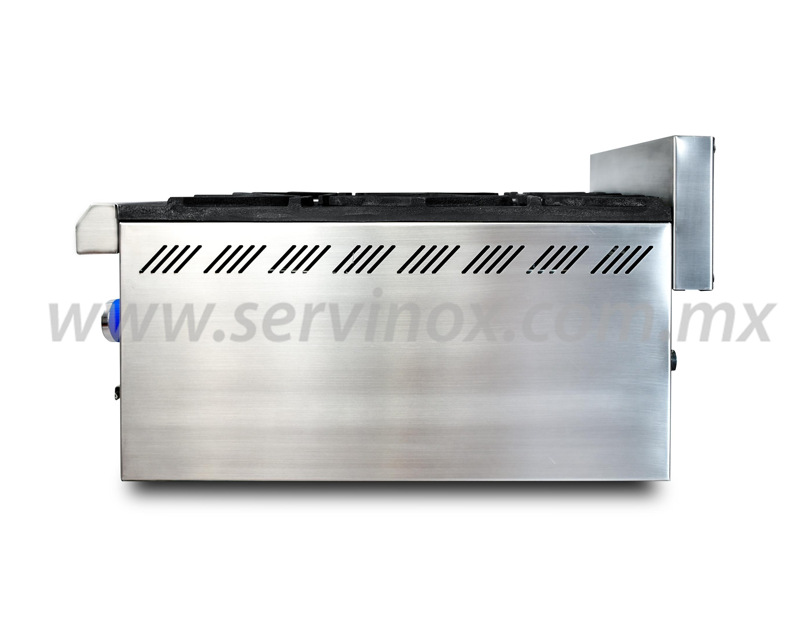 Parrilla Premium de 4 Quemadores Servinox PP4Q70 3