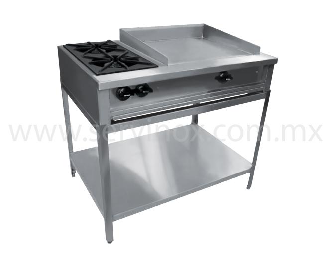 Servinox todo para tu negocio for Planchas de cocina industriales de segunda mano