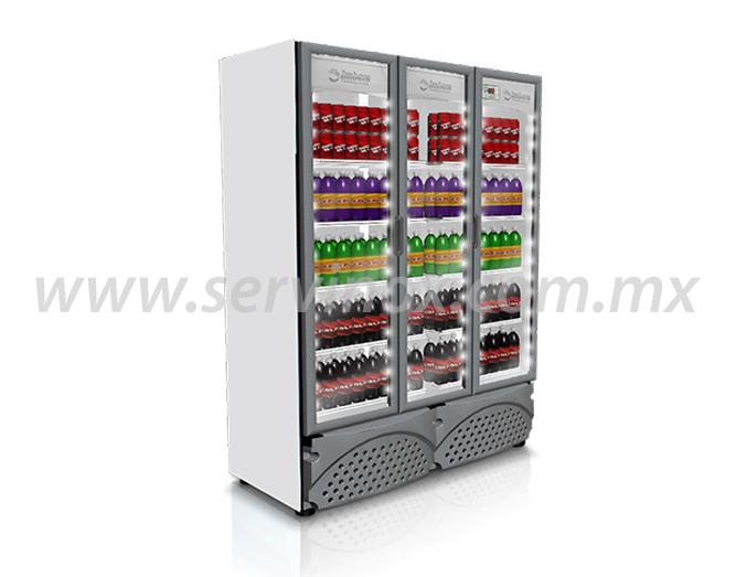 Refrigerador Vertical de 3 Puertas G3423P