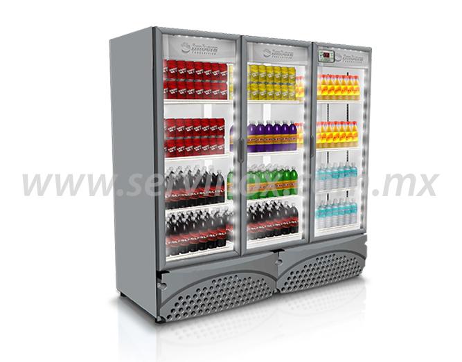 Refrigerador Vertical de 3 Puertas G3723P